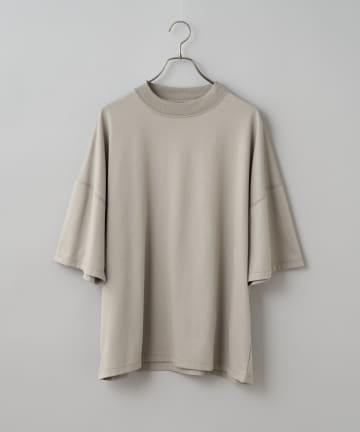 CIAOPANIC(チャオパニック) クールマックスビックシルエットロゴ刺繍半袖Tシャツ