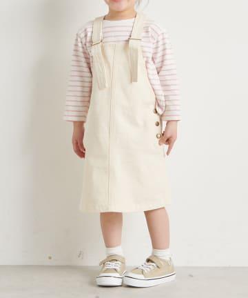 one after another NICE CLAUP(ワンアフターアナザー ナイスクラップ) 【Litone】シンプルジャンパースカート