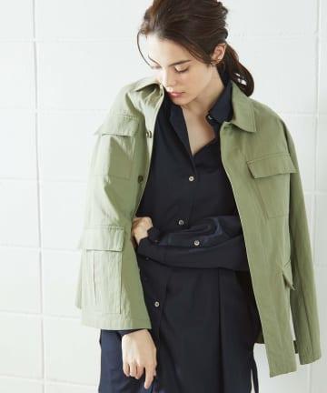 OUVRAGE CLASSE(ウヴラージュクラス) ミリタリーシャツジャケット