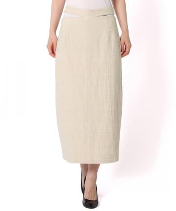 Kastane(カスタネ) 【GHOSPELL】Cut Out Midi Skirt