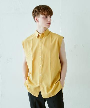 Lui's(ルイス) ノースリーブドレスシャツ