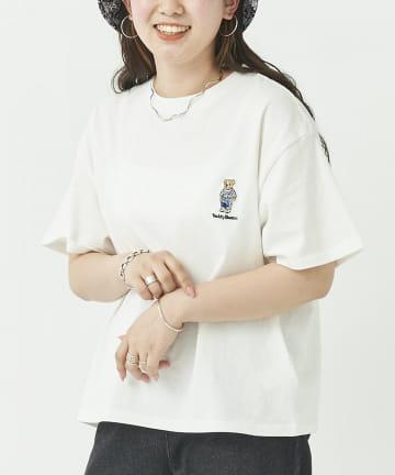 CPCM(シーピーシーエム) 【Teddy bear】テディベア青オーバーオールT