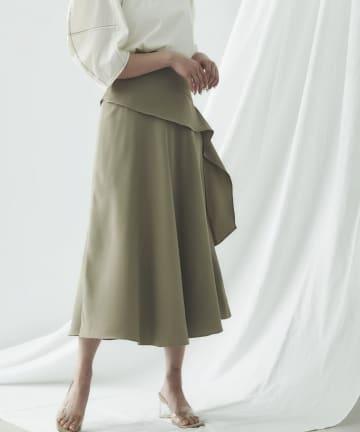 mona Belinda(モナ ベリンダ) 《期間限定タイムセール》ナナメフリルスカート