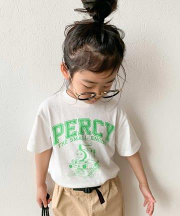 CIAOPANIC TYPY(チャオパニックティピー) 【KIDS】【きかんしゃトーマス】カレッジプリントTee