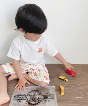 CIAOPANIC TYPY(チャオパニックティピー) 【KIDS】【きかんしゃトーマス】コラボバック プリント セットアップ