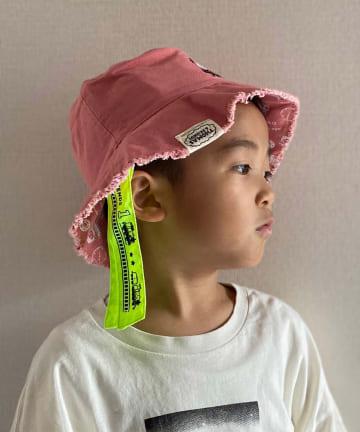 CIAOPANIC TYPY(チャオパニックティピー) 【KIDS】【きかんしゃトーマス】コラボ切りっ放しバケットハット