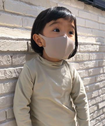 Lattice(ラティス) 《ニュアンスカラー冷感抗菌マスク》4枚SET(子供用サイズ)