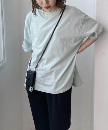 CAPRICIEUX LE'MAGE(カプリシュレマージュ) 〈WEB限定〉オーガニックコットンBIG Tシャツ