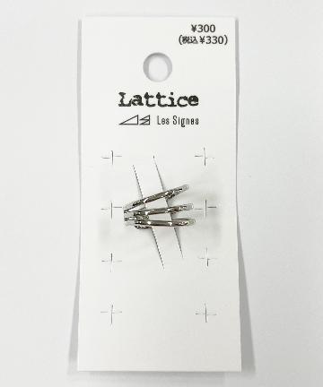 Lattice(ラティス) 3ラインメタルイヤカフ