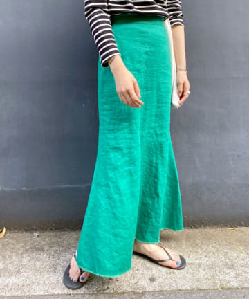 SHENERY(シーナリー) リネンマーメイドスカート