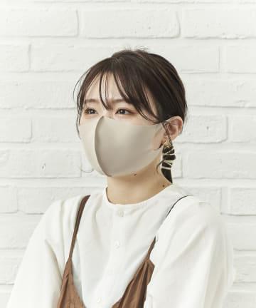 salut!(サリュ) 【暑い夏にぴったり】冷感洗えるマスク4枚入り(大人サイズ)