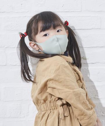 salut!(サリュ) 冷感洗えるマスク4枚入り(キッズサイズ)