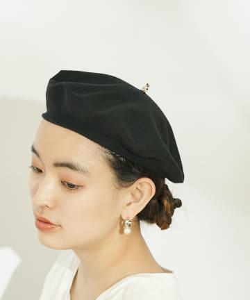 ear PAPILLONNER(イア パピヨネ) 【NACH(ナッシュ)】てっぺんにアニマルベレー帽
