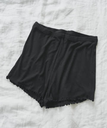 TERRITOIRE(テリトワール) 【SILK INNER】贅沢シルク混ショートパンツ