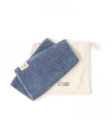 russet(ラシット) 【cocochiena】巾着付きフェイスタオル(N-002)