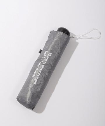 3COINS(スリーコインズ) 晴雨兼用折傘ロゴ