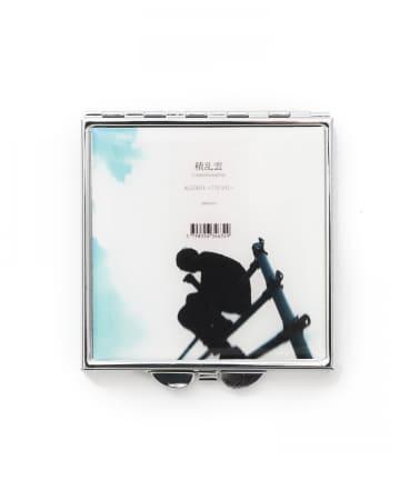 3COINS(スリーコインズ) 【JUKEBOX PROJECT】AWAコンパクトミラー