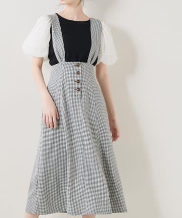 OLIVE des OLIVE(オリーブ デ オリーブ) サス付スカート
