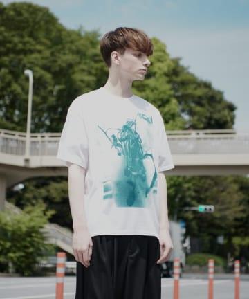 Lui's(ルイス) 【LAD MUSICIAN×Lui's】 花瓶柄ビッグシルエットTシャツ