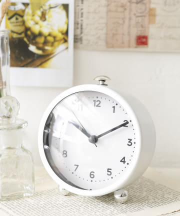 salut!(サリュ) 【PAL CLOSET限定】置時計クロエ(ホワイト)