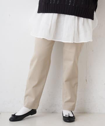 pual ce cin(ピュアルセシン) JAPAN MADE ストレッチスリムパンツ