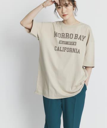 RIVE DROITE(リヴドロワ) 【リラクシーなサイズ感】MORRO BAYオーバーTシャツ