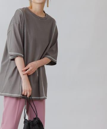 COLONY 2139(コロニー トゥーワンスリーナイン) 【WEB・一部店舗限定】リンキングデザインTシャツ