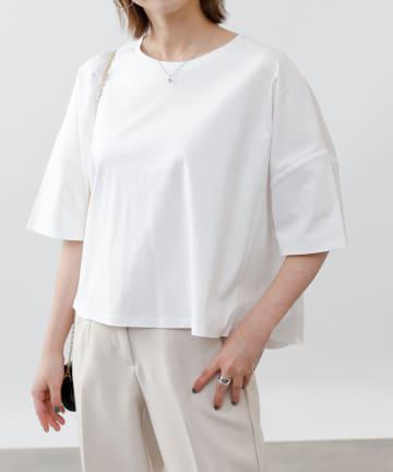 COLONY 2139(コロニー トゥーワンスリーナイン) 《抗菌・防臭》【SMART COLLECTION】抗菌スマートワイド半袖Tシャツ