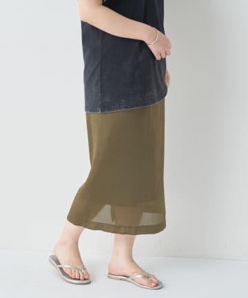 BONbazaar(ボンバザール) 《動画付き》楊柳イージースカート