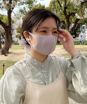Lattice(ラティス) 《ニュアンスカラー立体ウレタンマスク 》4枚SET(大人用小さめ)