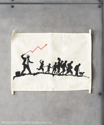 ASOKO(アソコ) Banksy's Graffiti ファブリックポスター(M)
