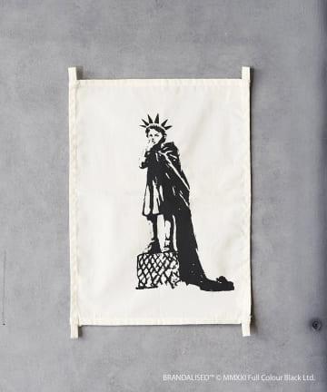 ASOKO(アソコ) Banksy's Graffiti ファブリックポスター(S)