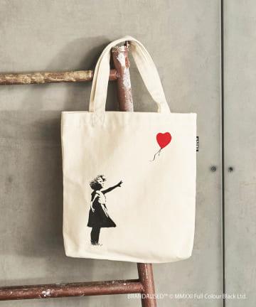 ASOKO(アソコ) Banksy's Graffiti トートバッグ(M)