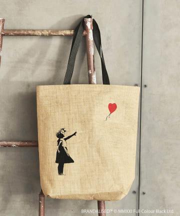 ASOKO(アソコ) Banksy's Graffiti ジュートバッグ