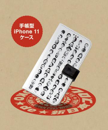 ASOKO(アソコ) 【ASOKO de 新日本プロレス】手帳型iPhone11ケース