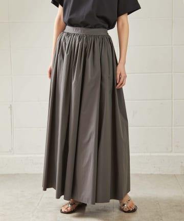 OUVRAGE CLASSE(ウヴラージュクラス) ボリュームマキシスカート