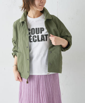 BONbazaar(ボンバザール) 【SUNCOO】ロゴTシャツ