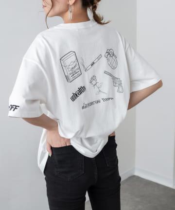 RASVOA(ラスボア) Danger Tシャツ