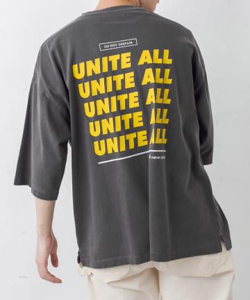 Discoat(ディスコート) 【UNITE ALL】ボールバイオプリントTシャツ(ユニセックスで着用可能)