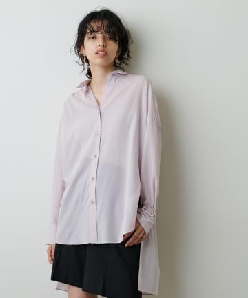 Whim Gazette(ウィム ガゼット) バックリボンシャツ