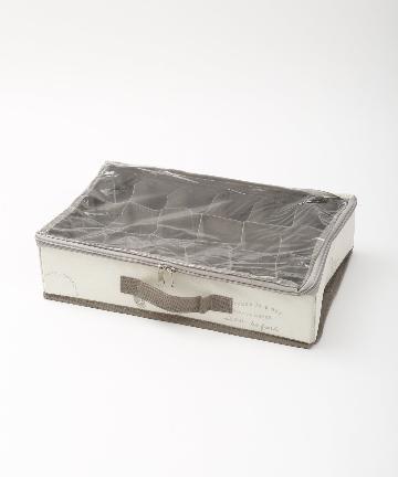 3COINS(スリーコインズ) 透明フタ付18小分けBOX