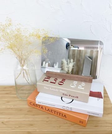 Lattice(ラティス) 【韓国風インテリア】スクエアスタンドミラー