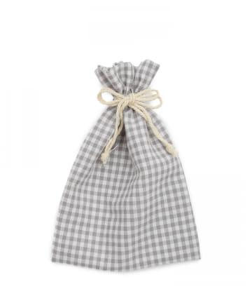 Lattice(ラティス) 【WEB限定】ギンガムチェック巾着ポーチM
