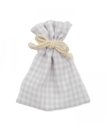 Lattice(ラティス) 【WEB限定】ギンガムチェック巾着ポーチS