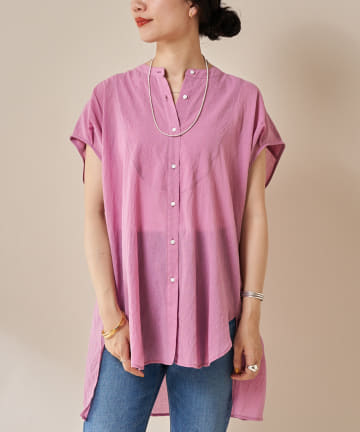 SHENERY(シーナリー) シアーヨークシャツ