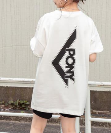 who's who Chico(フーズフーチコ) PONYバックロゴ半袖Tシャツ