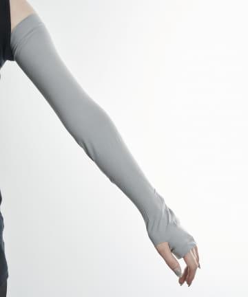 3COINS(スリーコインズ) 【快適な日差し対策】冷感スポーツアームカバー【Lサイズ】