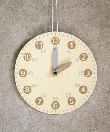 3COINS(スリーコインズ) 【知育玩具】知育時計