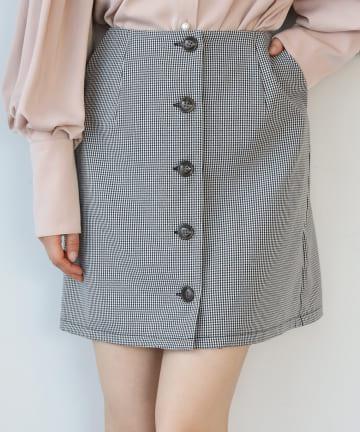 NICE CLAUP OUTLET(ナイスクラップ アウトレット) ミニのSETUPスカート