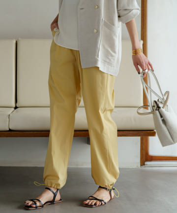 Loungedress(ラウンジドレス) ドロストパンツ
